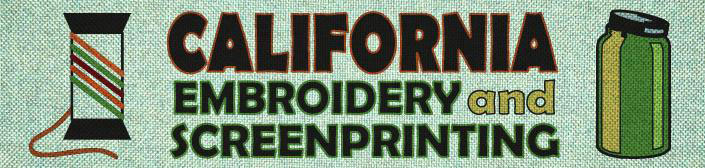 California Embroidery and Screenprinting